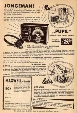 Advertentie van Maxwell Pupil